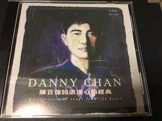 陈百强 Danny Chan - 90 浪漫心曲经典 CD (A collection of songs from the heart  - CD)