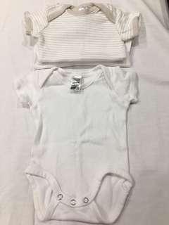 (0000) bonds Short sleeve body suits