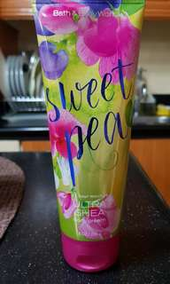 Bath and Body works Sweet Pea body cream/lotion