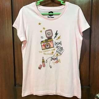 Light Pink T Shirt