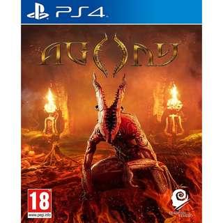 [NEW NOT USED] PS4 Agony Sony PlayStation Koch Media Survival Games