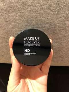 MUFE Ultra HD powder