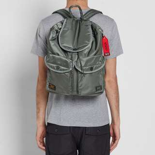 [Sale][代購] WTAPS x Head Porter Backpack 背包 Olive / Black 軍綠 / 黑色