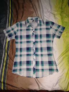 Buttoned down polo