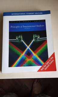 Principles of Instrumental Analysis (6th Edition)