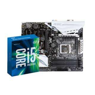 i5-6600k + Asus Z170-A