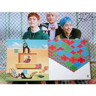 EXO-CBX hand signed album