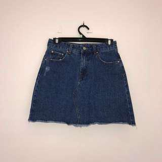 Glassons // Denim Skirt // Size 8