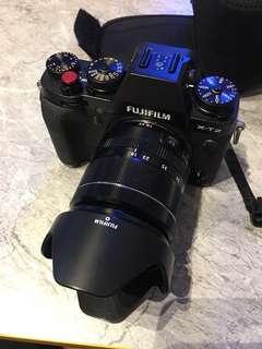 Fujifilm XT2 with 18-55mm lens