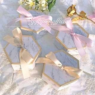 雲石盒 含花茶 公司回禮禮物