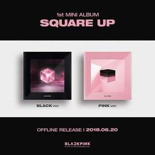 [Special Gift + Event] BLACKPINK - Square Up ( 1st Mini Album )