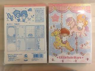 Little Twin Stars / My Melody note pad