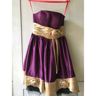 Party dress selutut