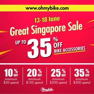 Bike Accessories Sale