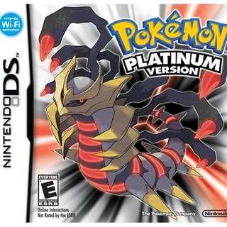 Looking For: Pokemon Platinum Version