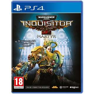 [NEW NOT USED] PS4 Warhammer 40,000: Inquisitor - Martyr PlayStation Maximum Action RPG Games