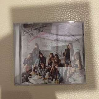 Snsd the best cd 碟
