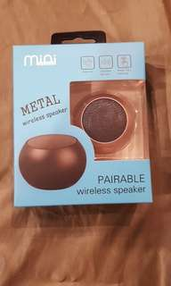 Portable & Pairable ( with fastening Cord) Mini Speaker
