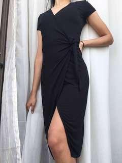 F21 Classy Wrap Dress