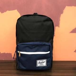 Original Herschel Pop Quiz Black and Navy Blue