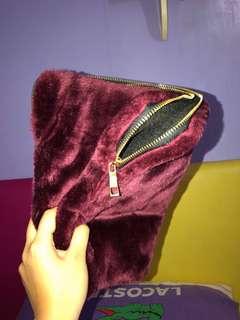 Fur laptop case