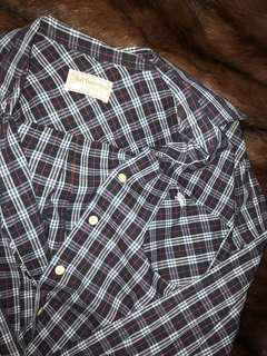 RARE AUTHENTIC- Burberry Flannel