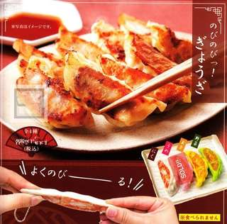 Stretching Dumplings Gyoza Keychain Gashapon / Gachapon from Japan