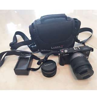 Good condition Full Set Panasonic Lumix GF2