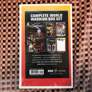 Street Fighter X G.I. Joe Box Set