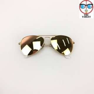 ray Ban aviator flash lenses kid size 50mm size 3 ~ 11 kid