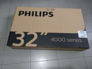 "Philips 32"" LED TV Digital TV (New)"