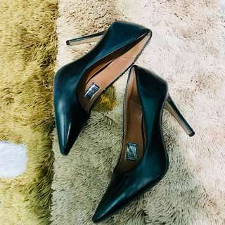Black closed heels (payless)