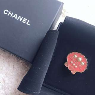 Chanel 貝殻 Brooch
