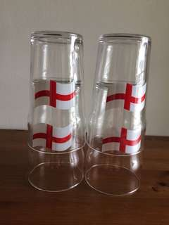 UK Beer Pint Glasses