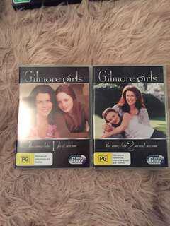 Gilmore Girls season 1 & 2