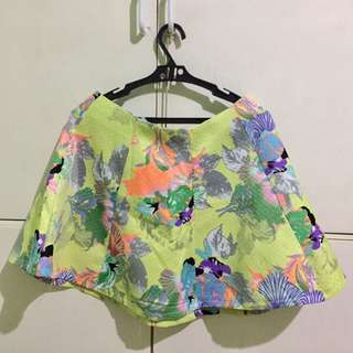 Floral Casual Skirt