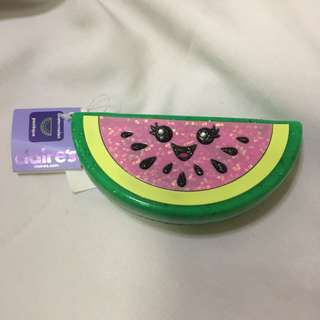Claire's Silicone Watermelon Coin Purse