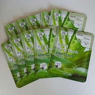 3W Clinic Aloe Vera Mask Sheet