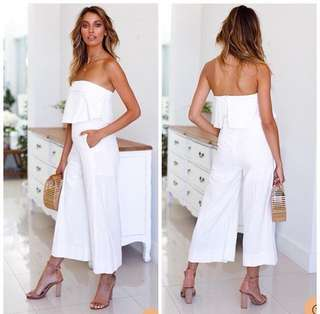 White Jumpsuit. On hand!