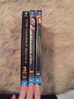 The Hunger Games first 3 Movies