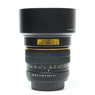 Rokinon 85mm f1.4 Aspherical IF ( A-mount )