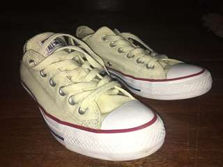Converse All-Star Chuck Taylor Classic Low Cut Cream