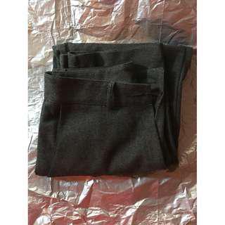 Grey Pants Slacks Small 24-25