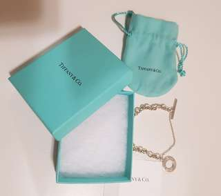 GENUINE TIFFANY & CO STERLING SILVER TOGGLE BRACELET RRP $470