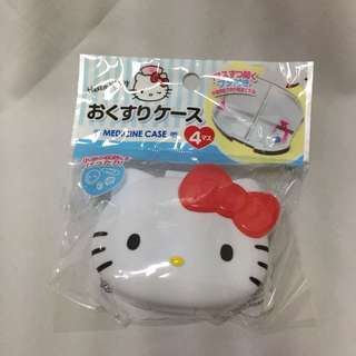 Hello Kitty Medicine Case
