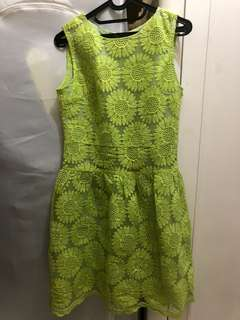 Summer Dress - Neon Flower