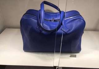 Hermes Victoria II 35 electric blue 7t