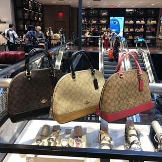 代購美國 COACH 經典系列大貝殼女裝手提袋