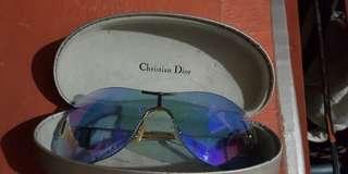 Christian Dior Diorella shield sunglasses