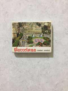 Barcelona ~ uncut photo cards